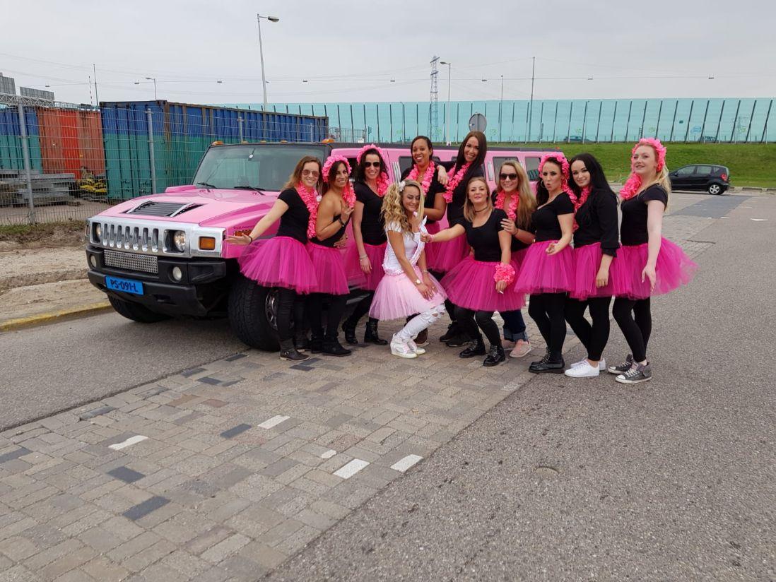 Limousine huren den Bosch voor XL limousine Nederland Sweet Sixteen